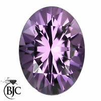 BJC® Loose Oval Cut Natural Amethyst Stones 0.17ct - 5.80ct Perfect Cut