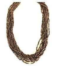 Silpada Brown Bronze Seed Bead Necklace  N1815
