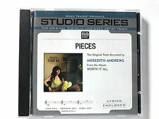 Studio Series - Meredith Andrews - Pieces - accompaniment track christian cd new