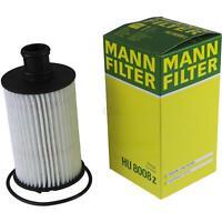 Original MANN-FILTER Ölfilter HU 8008 z Oelfilter Oil