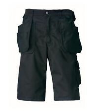 "Helly Hansen 76448 Ashford Work Shorts Black C54 38""W V3GE#"