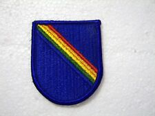 7th SPECIAL OPERATIONS SUPPORT COMMAND BERET FLASH:K6
