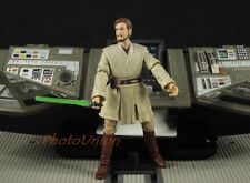 "Hasbro Star Wars 3.75"" Figure 1:18 General Obi Wan Kenobi Jedi Mentor 2008 K667"