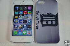 Detroit Tigers MLB Baseball Hard Plastic Full Case for Apple iPhone SE 5S 5G 5