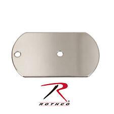 New Rothco 8680 Emergency Survival Dog Tag Shaped Mini Signal Mirror w/ Chain