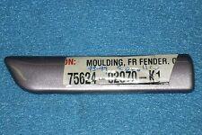 1993-1997 Toyota Corolla Left Front Fender Molding/Trim, O.E.M.-NEW-N.O.S. K1