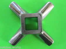 #12 S/Steel Meat Grinder Knife blade cutter for  Hobart Cabelas Universal