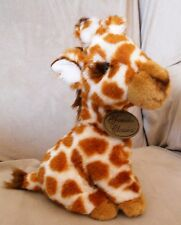"Yomiko Classics Plush 9"" Giraffe with tags Stuffed Toy Animal NOS"
