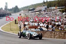 Cliff Allison Lotus 12 Belgian Grand Prix 1958 Photograph