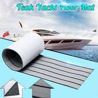 120*30CM Marine Floor EVA Teak Foam Boat Mat Self-Adhesive Decking Yacht Sheet