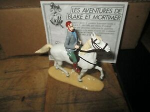 Pixi & Jacobs-Mortimer a cheval-Boite&certif-750 exemplaires-Neuf-1994