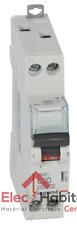 Disjoncteur unipolaire+neutre DNX3 20A Vis/Vis Legrand 406775