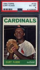 1964 Topps #103 Curt Flood Cardinals PSA 6 *687262