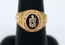 1947 Western HS Class Ring 4.6 Grams 10K Size 7 1/2 Classic Vintage Ladies