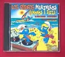 Los Pitufos Makineros – Vamonos A Ibiza!!  - 1 CD - USADO - BUEN ESTADO