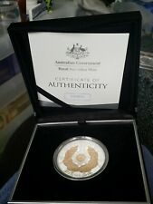 AUSTRALIA 2016 $5 OLYMPIC TEAM SELECT GOLD & Fine Silver PROOF COIN mintage 2016