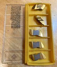 5 Kennametal Nas3l6 6 Stub Acme Top Notch Threading Carbide Inserts Kc730