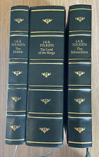 BCA Tolkien, Lord Of The Rings, Silmarillion, The Hobbit Leather Bound 1992