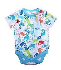 Ted Baker Baby Boy Babygrow Bodysuit Vest Chameleon Designer 12-18 Months