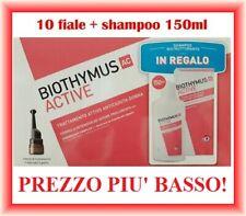 BIOTHYMUS ACTIVE Fiale Anticaduta DONNA Capelli 10 fiale + SHAMPOO 150ml OMAGGIO