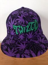Insane Clown Posse ICP Twiztid Marijuana Pot Leaf Hatchetman Juggalo Hat Cap S