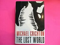 The Lost World by Michael Crichton 1995 First Edition 1st Printing Hardcover DJ