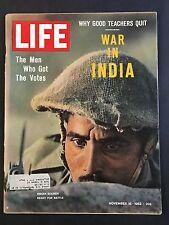 Life Magazine  November 16 1962 War In India