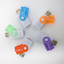 4 in 1 USB Memory Card Reader for MS MS-PRO TF Micro SD High Speed