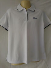 Mens Biz Collection Polo Shirt, Golff, White, Size 16, Short Sleeves