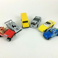 Lot 6 Mattel Hot Wheels Diecast Toy Car Deora Corvette LMP Jeep VW Child Gift
