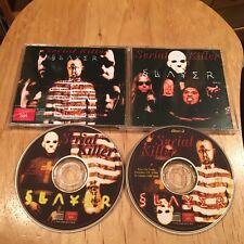Slayer - Serial Killer 2CD Japan press metallica exodus megadeth anthrax sadus