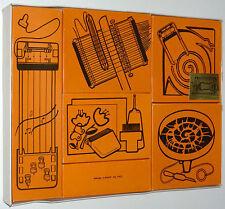 Vintage Toy Art Music Project Kit 1960 Electro Harp Guitar Potter Wheel Spin Art