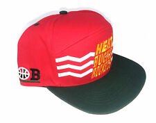 BODEGA HEAT BUCKS ROCKETS Snapback Cap Hat Red SO FOUL Adjustable