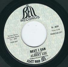 Garage Folk / Rock - Albert Lee BELL 839 Best i can / That's all right ♫
