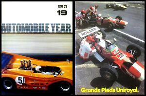 Automobile Year 1971/72 (Number #19) - SCARCE HC w/DJ 1st PRINT 1971