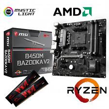 MSI B450M PRO-VDH MAX AMD RYZEN 7 3800X 8x 4,5GHz, 64GB PC3000 beQuiet Dark Rock