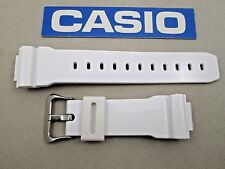 Genuine Casio G-Shock GB5600A GB6900A GB6900B GW6900F white resin watch band