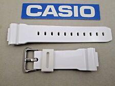Genuine Casio G-Shock GB5600A GB6900A GB6900B GW6900F white resin watch band