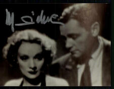 Marlene Dietrich Foto Original Signiert ## BC 30819