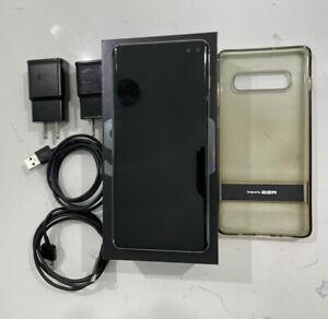 Samsung Galaxy S10+ Plus  SM-G975U- 128GB - Black Verizon READ DESCRIPTION