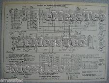 METZ Typ 520 W Schaltplan Ausgabe 1, Stand 10/51