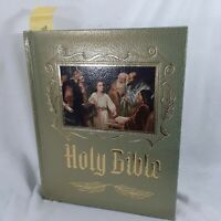 Holy Bible Master Reference Edition Heirloom Red Letter Edition KJV Illustrated