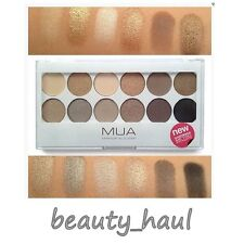 MUA UNDRESS ME TOO Eyeshadow Palette Nude Neutral NUDES TO BROWNS Matte Shimmer