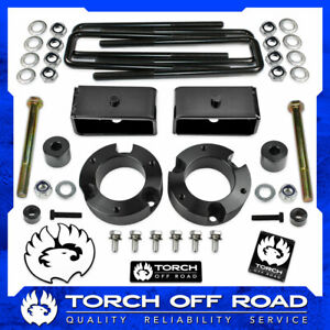 """3"""" Front 2"""" Rear Leveling Lift Kit for 2005-2021 Toyota Tacoma 4WD Diff Drop"""