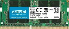 Crucial 8GB DDR4 2400MHz PC4-19200 260pin CL17 SODIMM Laptop Memory RAM 1.2V