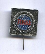 pin SPEEDWAY World Team Championships Wrocław 1971 badge