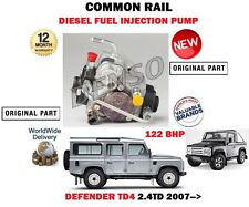 Per LAND ROVER DEFENDER 2.4 TD4 2007 - > COMMON RAIL POMPA DI CARBURANTE INIEZIONE DIESEL