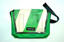 FREITAG F14 Dexter Large Sized Messenger Bag | Green & White | BNWT | RRP £190