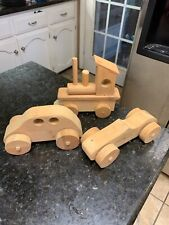 Grandpa's Wooden Toys  Set Of 3