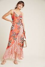 NWT Farm Rio for Anthropologie Musette Maxi Dress Floral SIZE M 8 10